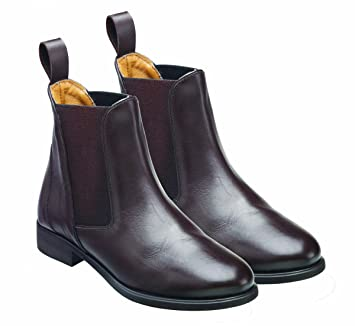Harry Hall Clifton Bottines d'équitation pour femme Marron Marron Size 3