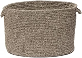 product image for Colonial Mills Shear Natural Utility Basket, 14 by 10-Inch, Rockport Gray
