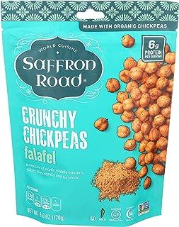 product image for Saffron Road Organic Crunchy Chickpeas, Non-GMO, Gluten-Free, Halal, Falafel, 6 oz