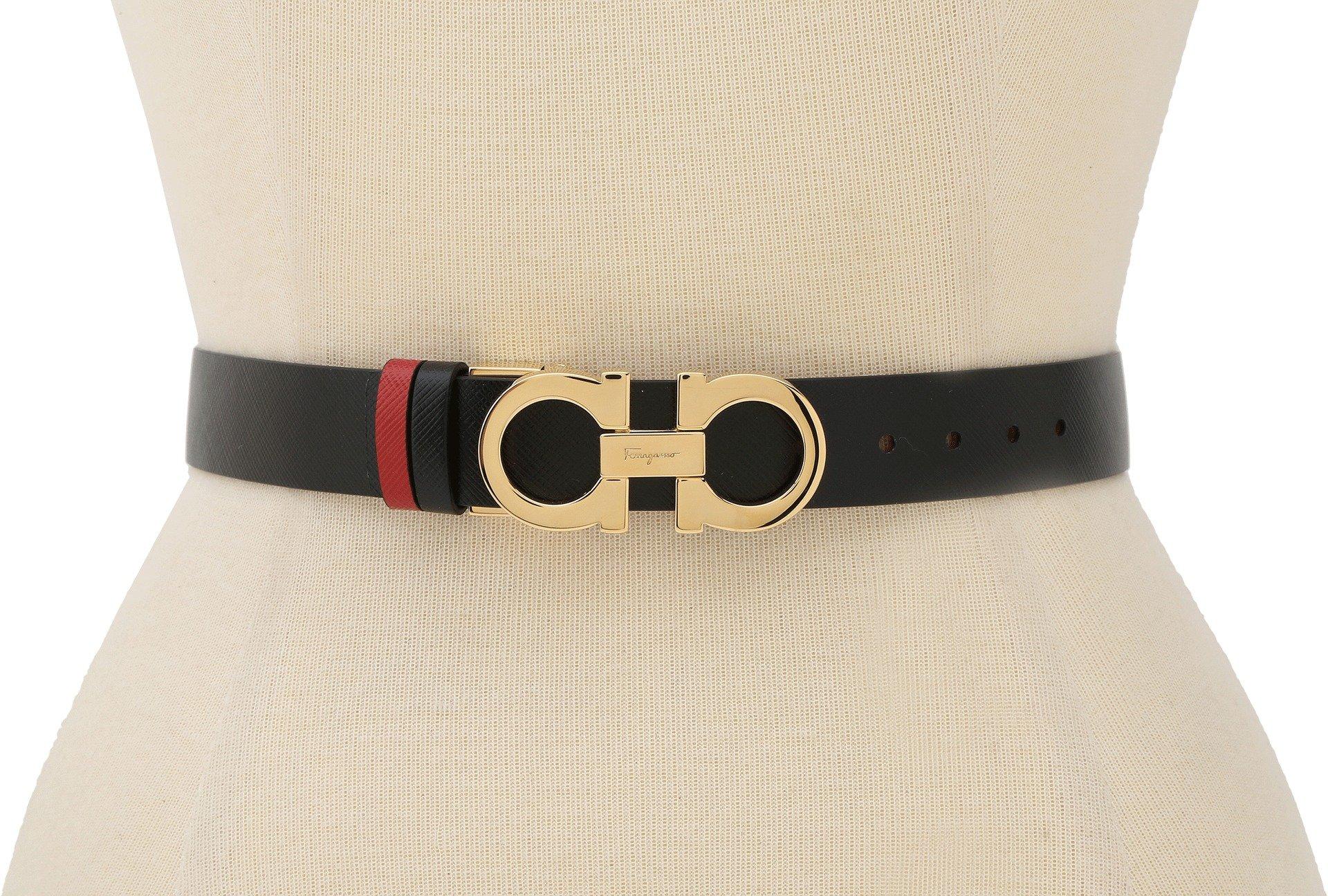 Salvatore Ferragamo Women's A565 Belt Rosso Tissu Belt 70 (28'' Waist) by Salvatore Ferragamo (Image #2)