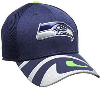 New Era Men s Nfl 17 Official on Stage 39Thirty Seattle Seahawks Baseball  Cap 3e9405f36