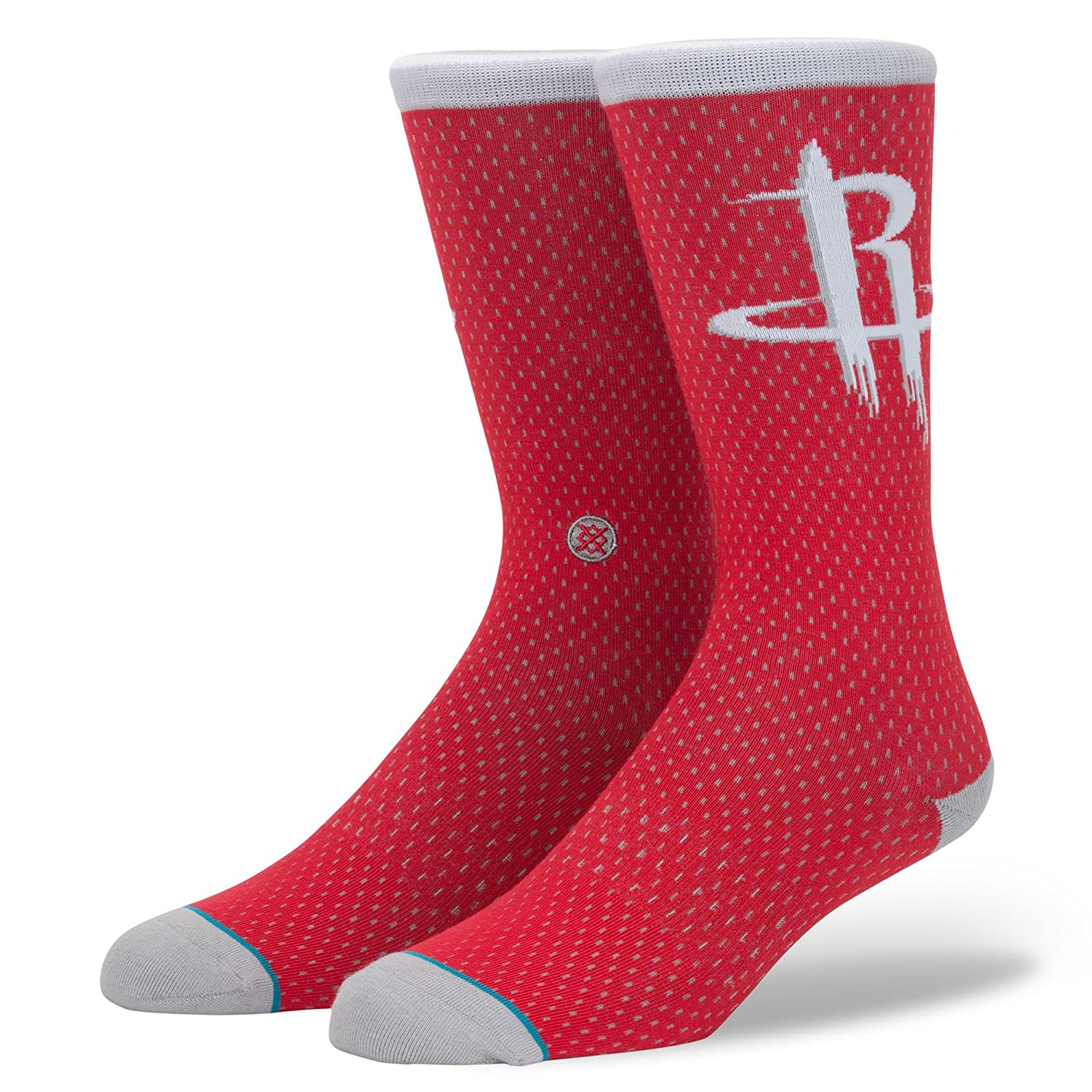Stance NBA Rockets Jersey Crew Socks - Red Medium Stance Socks M545D17ROC-RED-Red-M (UK5-8)