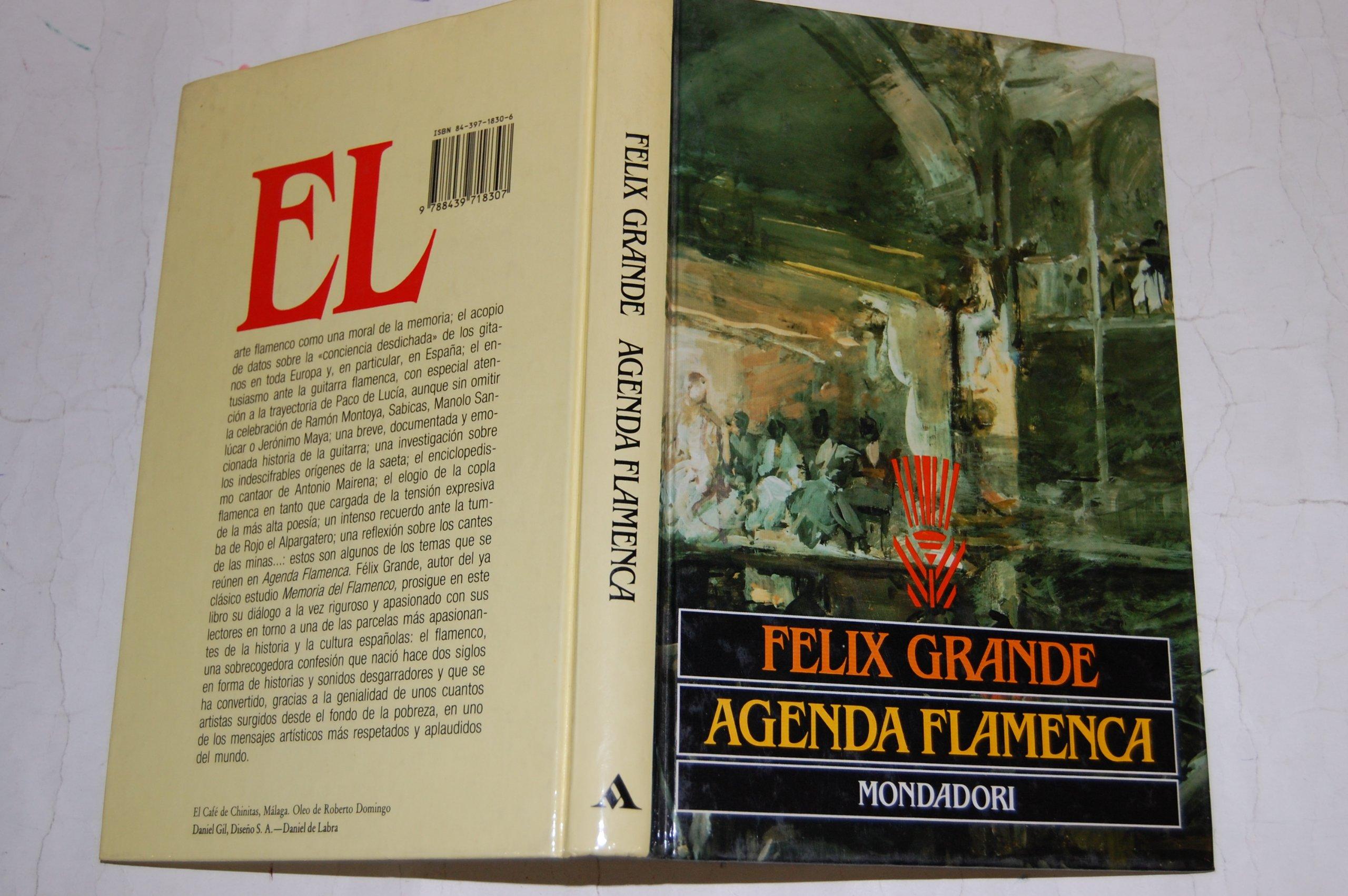 Agenda flamenca (Spanish Edition): Félix Grande ...