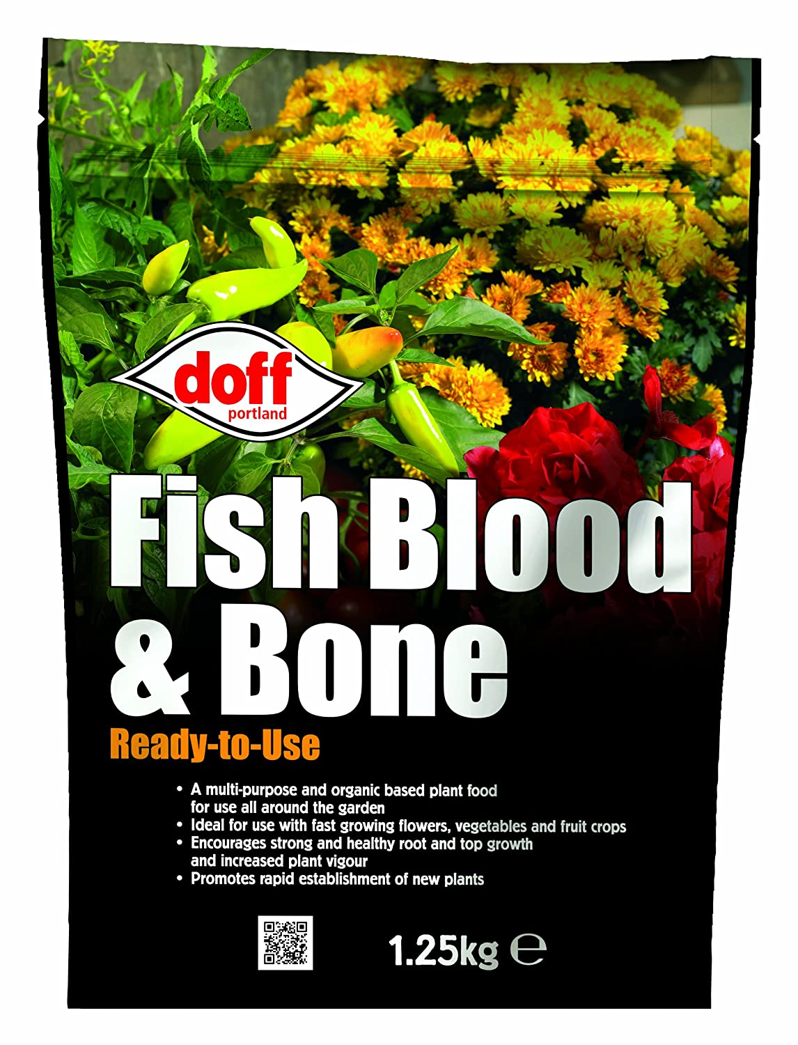 Doff 1.25Kg Fish Blood and Bone Ready-to-Use Doff Portland Ltd F-MC-A25-DOF