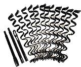 DIY Heatless Beach Wave Curl Forming Hair Roller 12