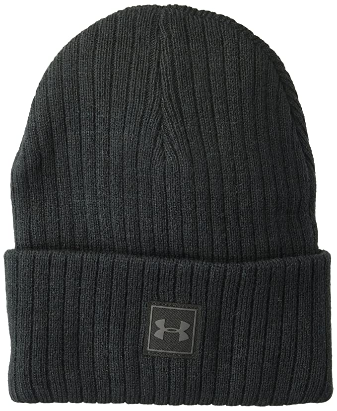 Under Armour Men's Truckstop Beanie 2.0, Black (001)/Black, One Size best men's beanies