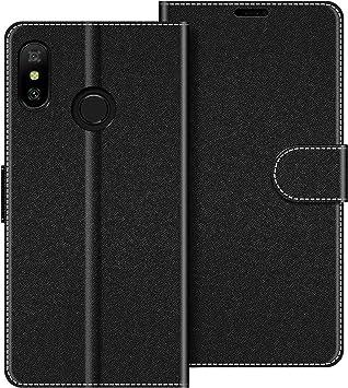 COODIO Funda Xiaomi Mi A2 Lite con Tapa, Funda Movil Xiaomi Mi A2 Lite, Funda Libro Xiaomi Mi A2 Lite Carcasa Magnético Funda para Xiaomi Mi A2 Lite, Negro: Amazon.es: Electrónica