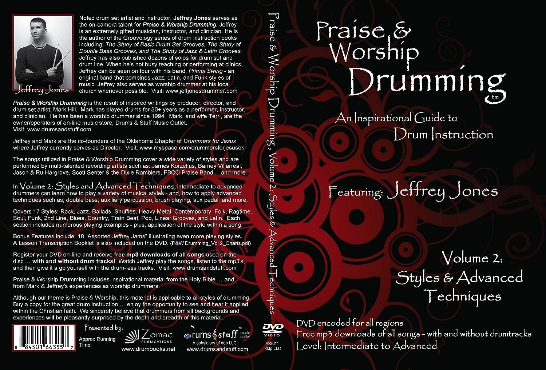 Amazon.com: Praise & Worship Drumming DVDs - 2 Volume Set: Musical  Instruments