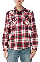 (リーバイス)Levi's バーストウ ウエスタン シャツ DORRIGO DRESS BLUES PLAI