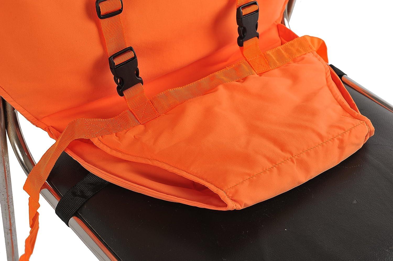Vine Chaise Nomade pour Bébé Tissu de voyage portable Chaise haute siège  dappoint pour infant Harnais ... 415666cf3f9