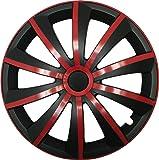 GRAL Rot/Schwarz - 14 Zoll, passend für fast alle Kia z.B. für Picanto