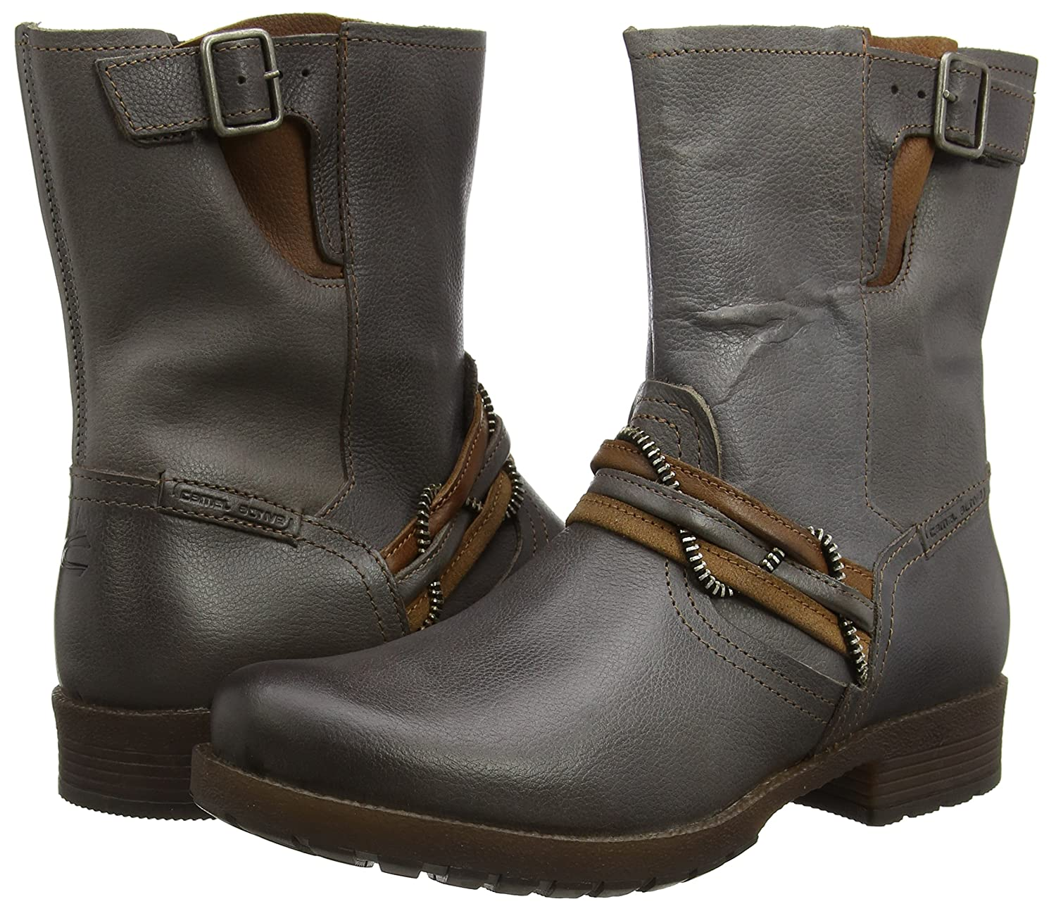 731719de6ba4 camel active Women's Taiga 71 Biker Boots: Amazon.co.uk: Shoes & Bags