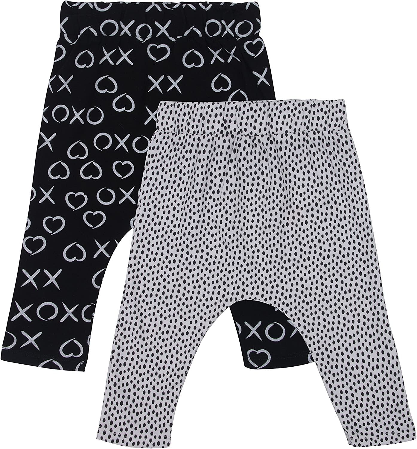 Comfy PL Kids 2-Pack Baby Harem Pants Cute and Resistant