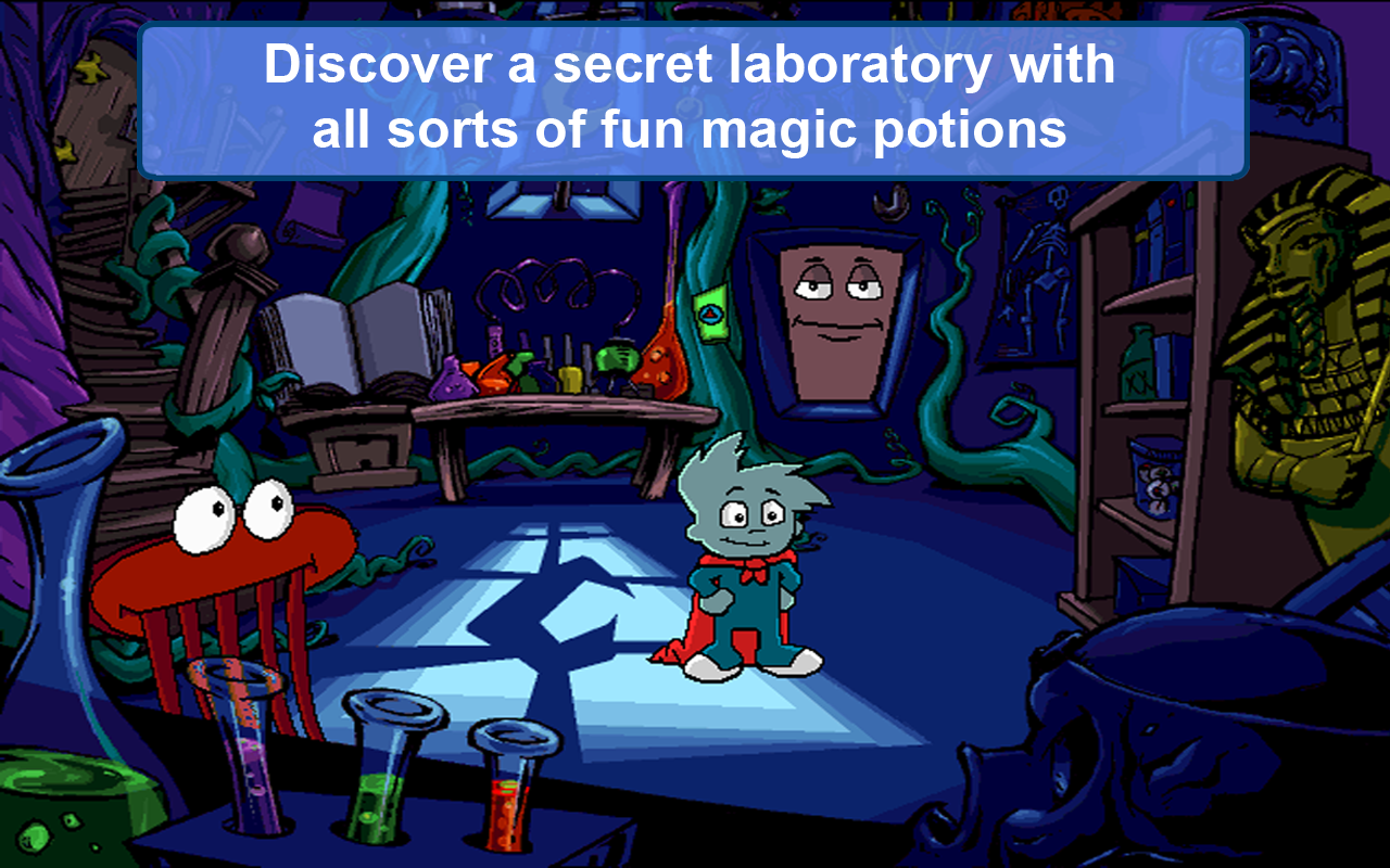 Pajama Sam In No Need to Hide When It s Dark Outside Free Download for PC