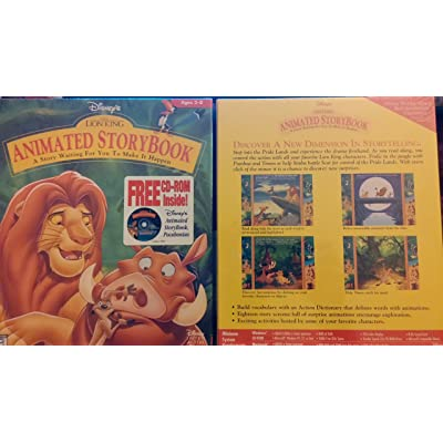 The Lion King Animated Storybook: Software