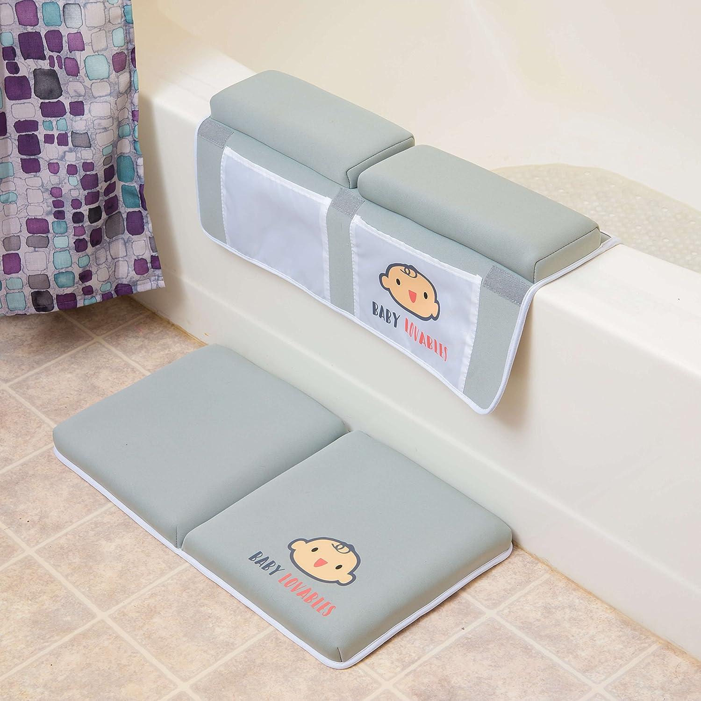 No Slip Shower Rubber Mat Pad For Bathtub Bath Safety Kids Tub Kneeling Bathing
