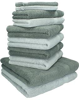 BETZ - Juego de toallas Premium, 100% algodón, 10 piezas: 2 toallas