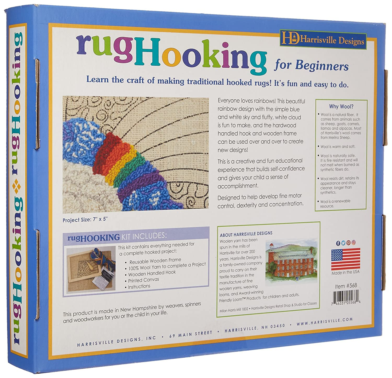 Amazon.com: Harrisville Designs Traditional Rug Hooking: Toys & Games