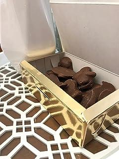 Piedras de Santiago - Piedras de Chocolate con leche con Almendras - Dulce típico de Galicia - Elaboradas con…