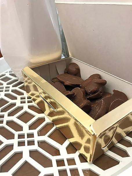 Piedras de Santiago - Piedras de Chocolate con leche con Almendras - Dulce típico de Galicia