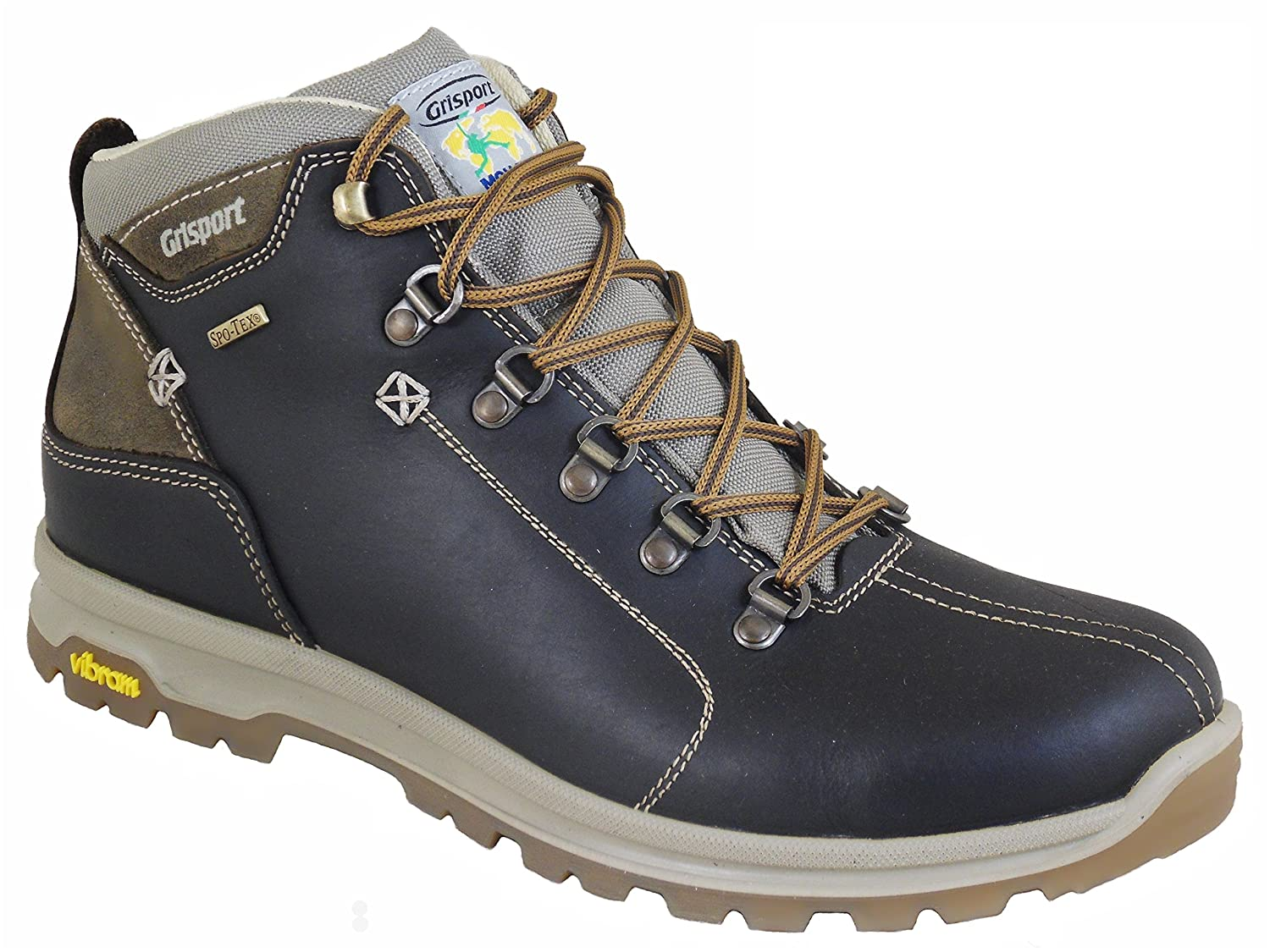 Grisport Aviator Men's Waterproof Hiking Boots Brown