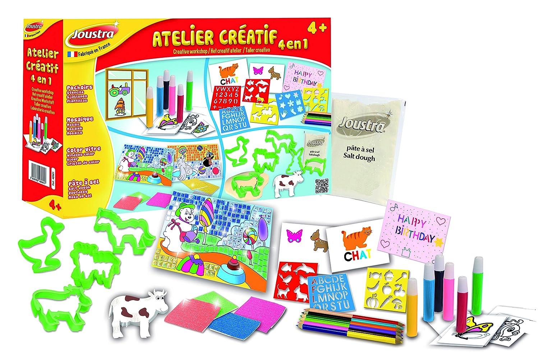 Joustra - 48061 - Atelier Créatif 4 en 1 Heller Joustra