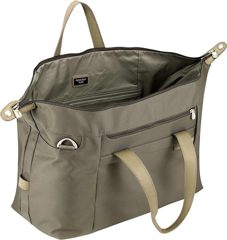 Otaria Lightweight Packable Tote Bag Water Resistant Folding Travel Bag Black