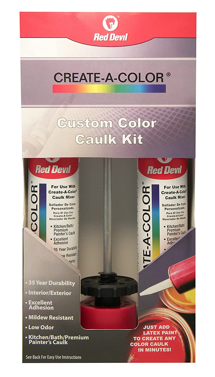 Red Devil Inc. 4074 Create a Color Caulk Kit
