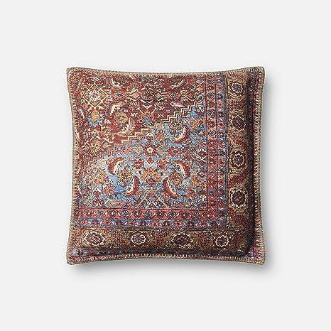 Amazon.com: Loloi – Funda de almohada, solo/sin relleno de ...