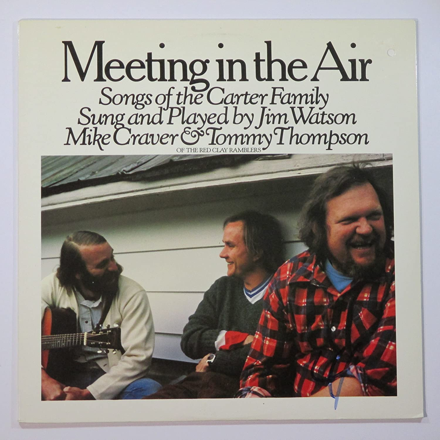Jim Watson, Mike Craver, Tommy Thompson - Meeting In The Air, Songs Of The Carter Family, Vinyl LP - Amazon.com Music