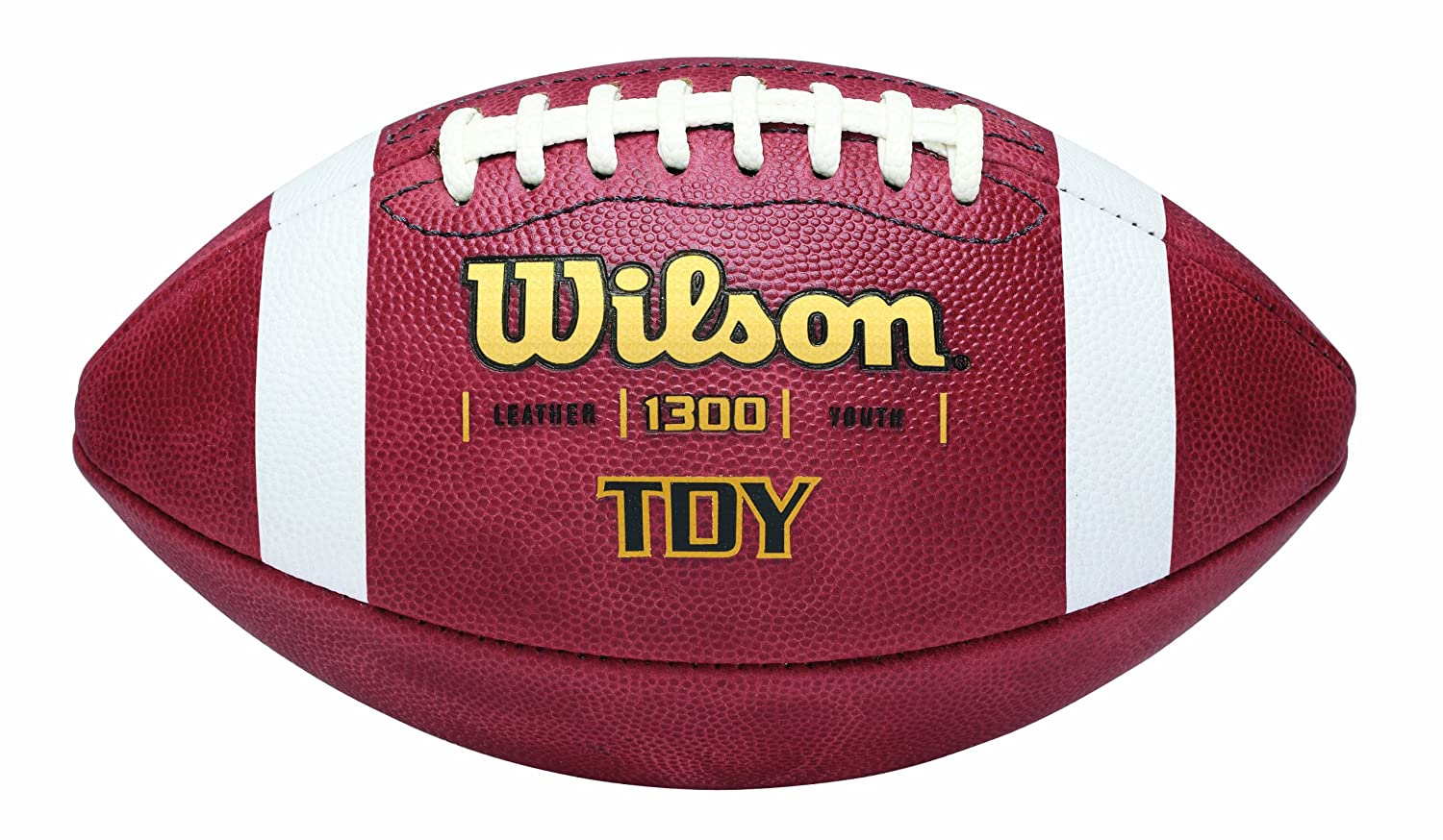 Wilson 3F1300 Tdy Leather Game Football, Youth WTF1300B