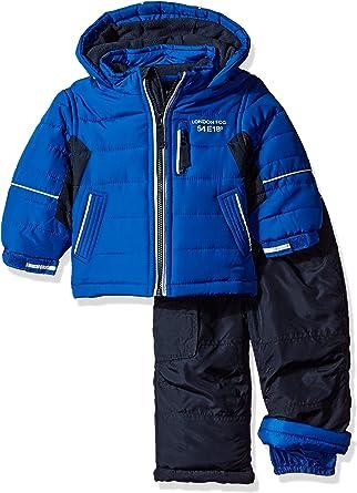 LONDON FOG Baby Boys Ski Jacket /& Ski Pant 2-Piece Snowsuit