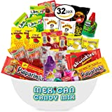 Mexican Candy Assortment Snacks (32 Count), Variety Of Spicy, Sweet, Sour Bulk Candies Dulces Mexicanos, Includes Lucas…