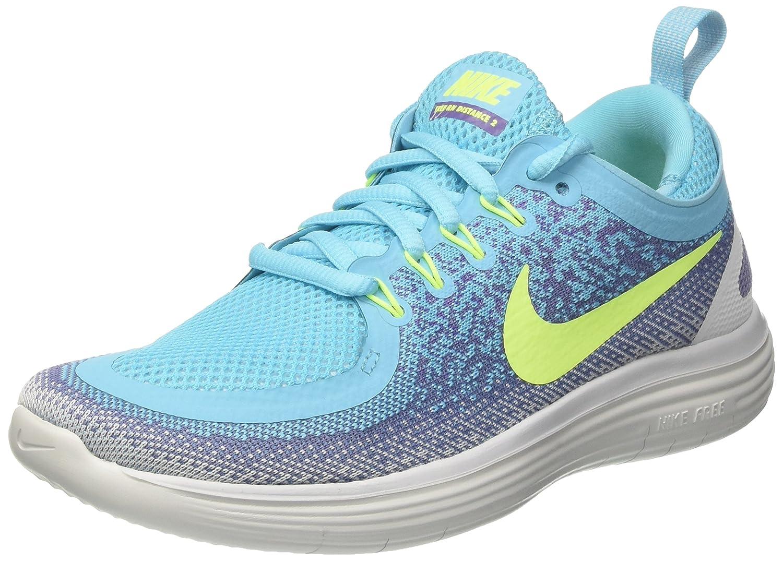 Blu (Polarized blu Volt Iron viola viola Earth) Nike Wmns gratuito RN Distance 2, Sautope correrening Donna