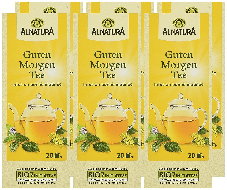 Alnatura Bio Guten Morgen Tee 20 Beutel 6er Pack 6 X 30 G