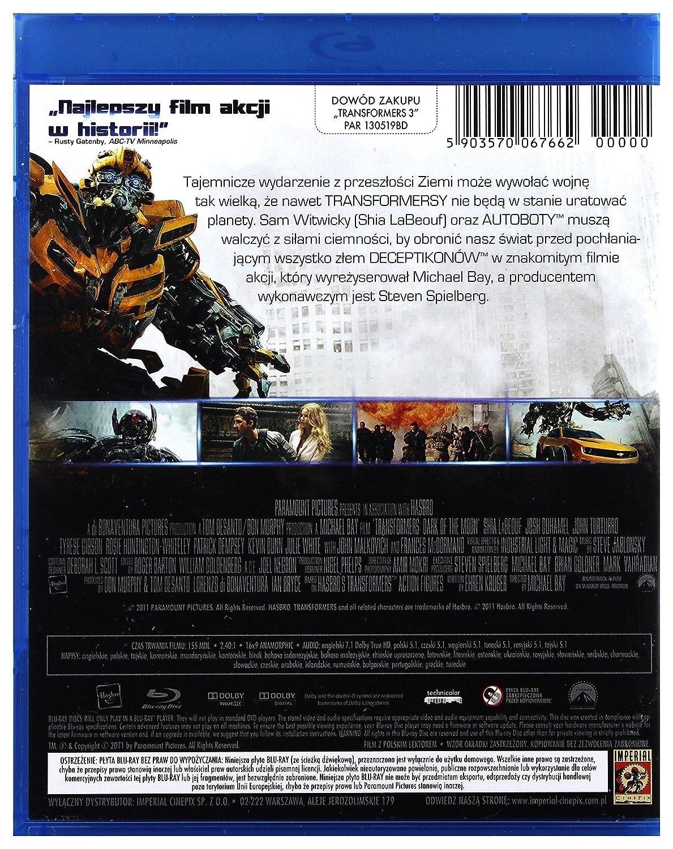Amazon com: Transformers: Dark of the Moon [Blu-Ray] (English audio