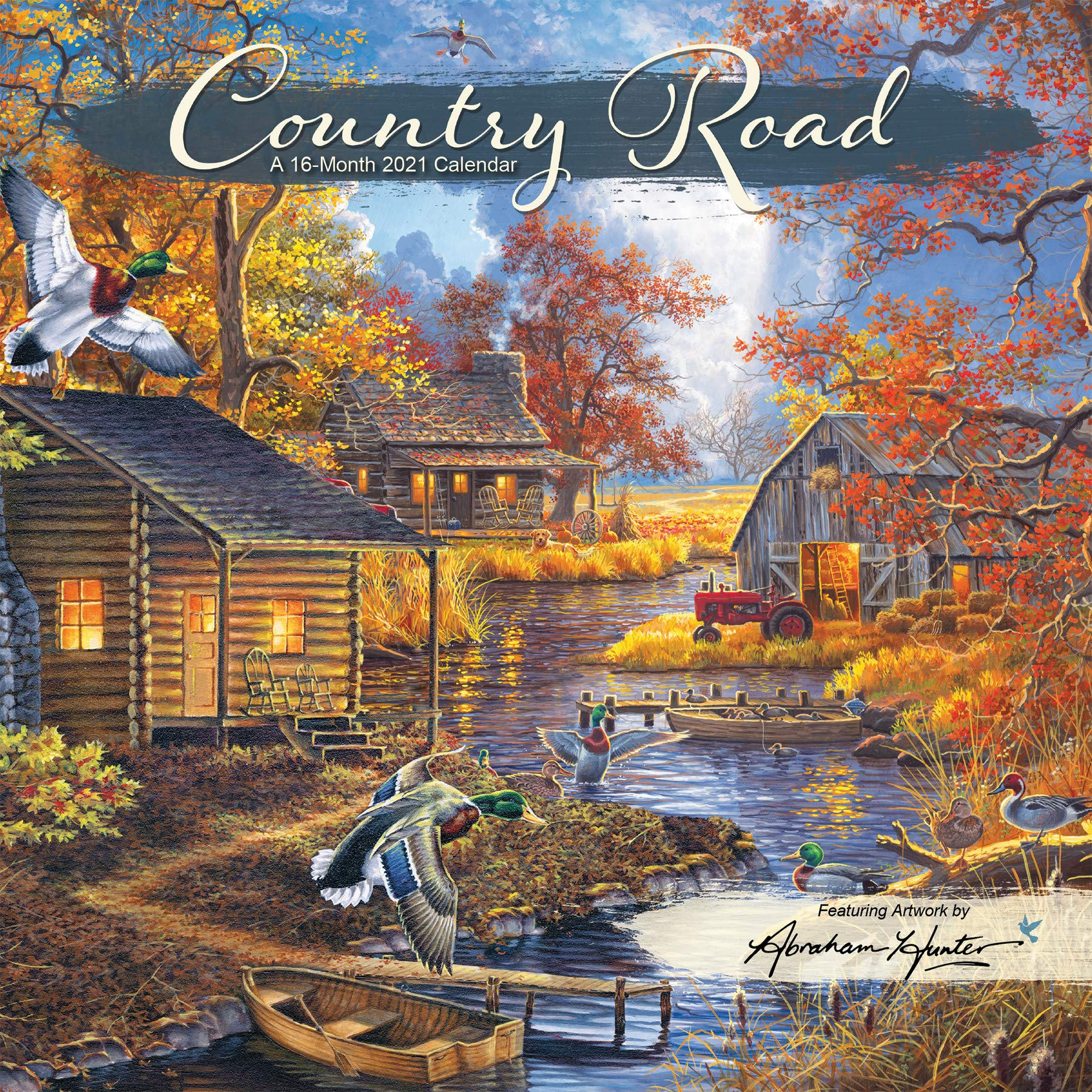 Hunter Calendar 2021 2021 Country Road   Abraham Hunter Mini   7