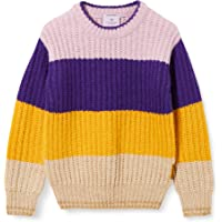 Scotch & Soda Coloublock Crewneck Pullover suéter para Niñas