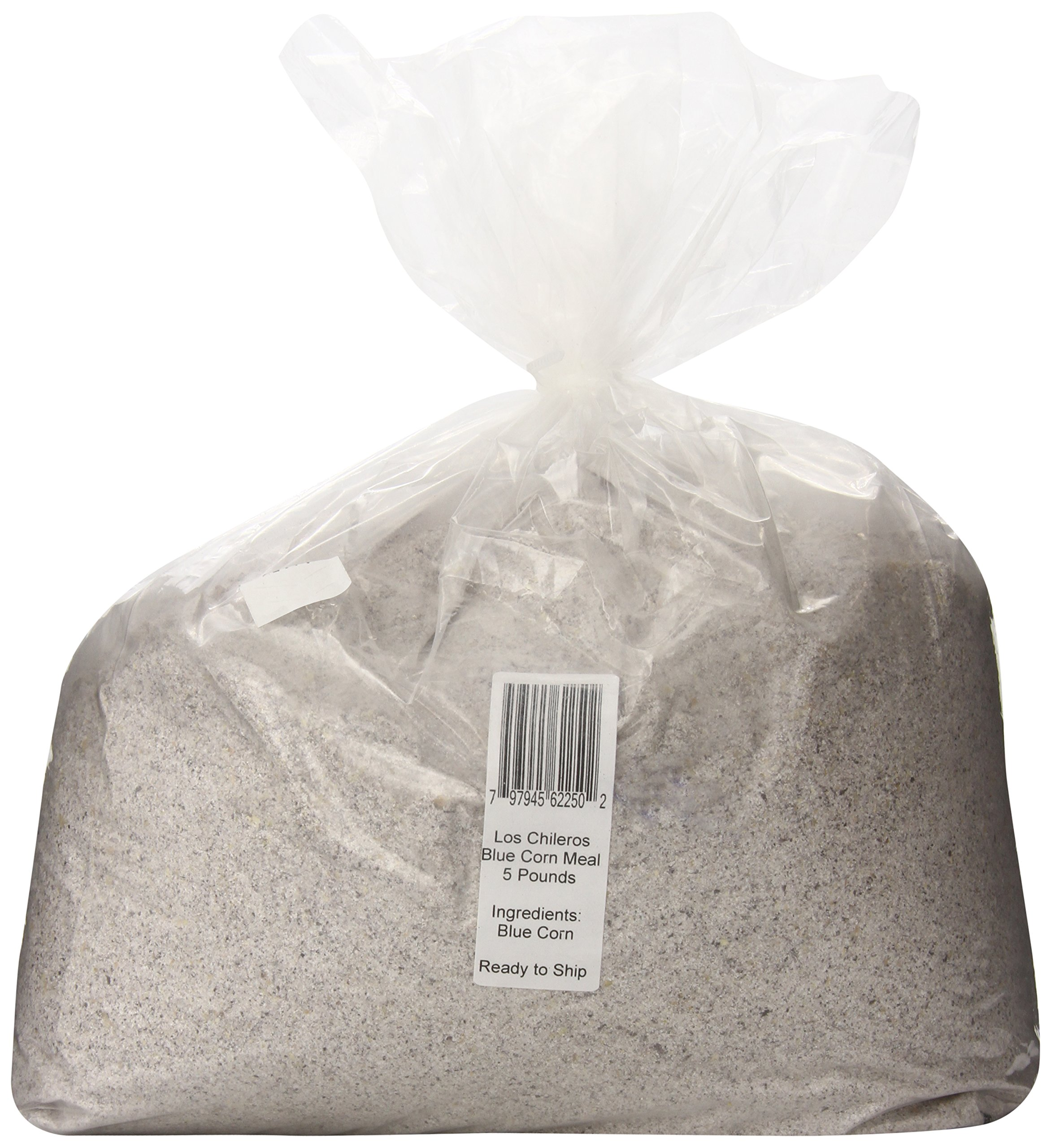 Los Chileros Blue Corn Meal, 5 Pound
