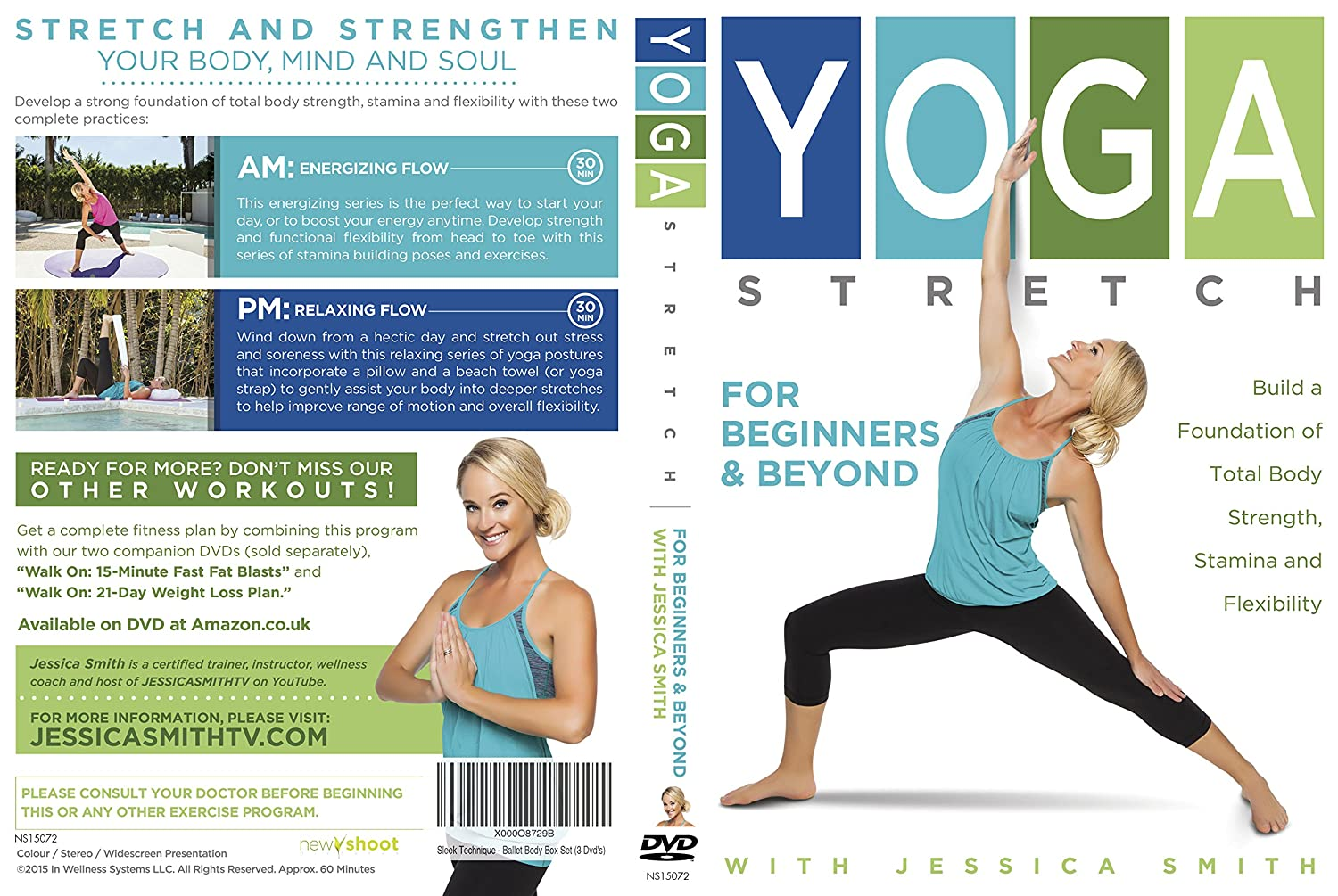 Yoga Stretch for Beginners and Beyond with Jessica Smith ...