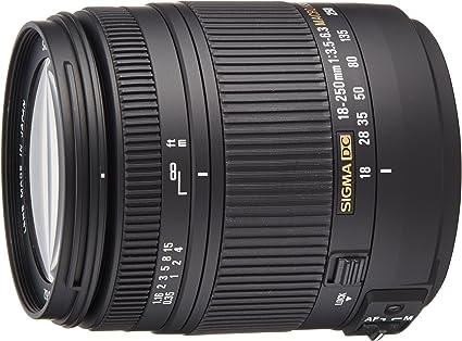 Sigma 18 250 Mm F3 5 6 3 Dc Macro Os Hsm Objektiv Kamera