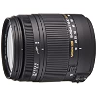 Sigma 18-250 mm F3,5-6,3 DC Macro OS HSM Objektiv (62 mm Filtergewinde, für Nikon Objektivbajonett)