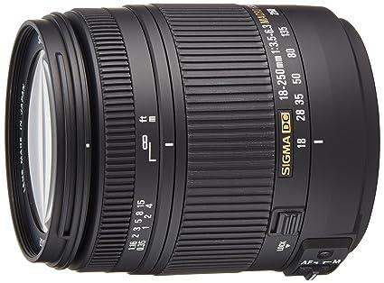 Sigma 18-250OS - Objetivo para cámara réflex y Evil: Amazon.es ...