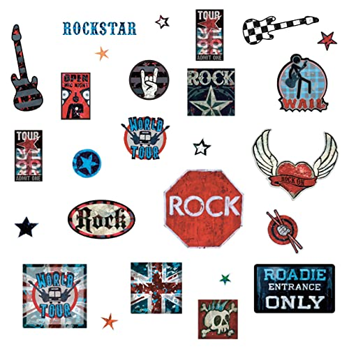 Rock and Roll Sign Wall Art: Amazon.com