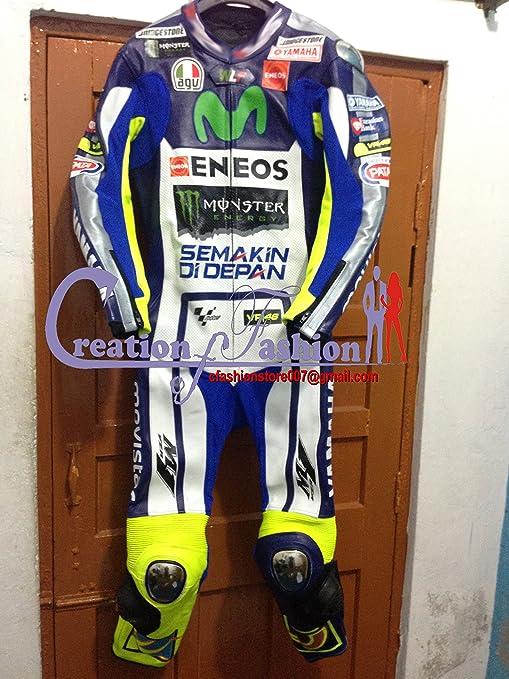 low priced e04de 34beb Tuta intera da motociclismo, in pelle, replica di quella ...