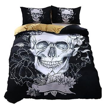 Juego de cama de 2 piezas. Funda nórdica de 1 pieza con fundas de almohada de 1 piezas sin edredón,King(240x220cm): Amazon.es: Hogar
