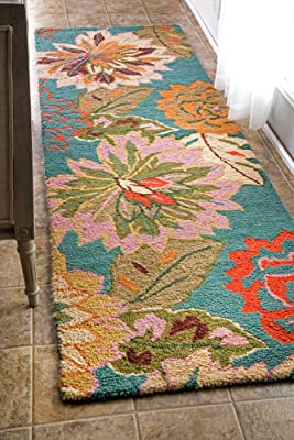 nuLOOM San Miguel Collection Isabella Area Rug, 2-Feet 6-Inch by 8-Feet, Multicolored