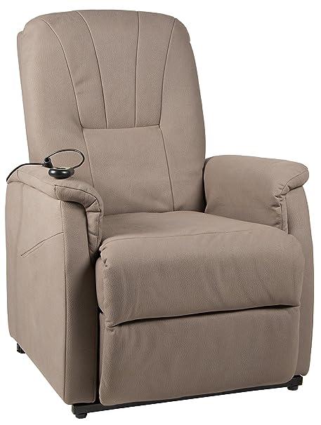 Duo Collection Fernseh-TV-Sessel Edmonton, Aufstehhilfe, Motor, Liegefunktion, stufenlos elektrisch verstellbar, Fernbedienun