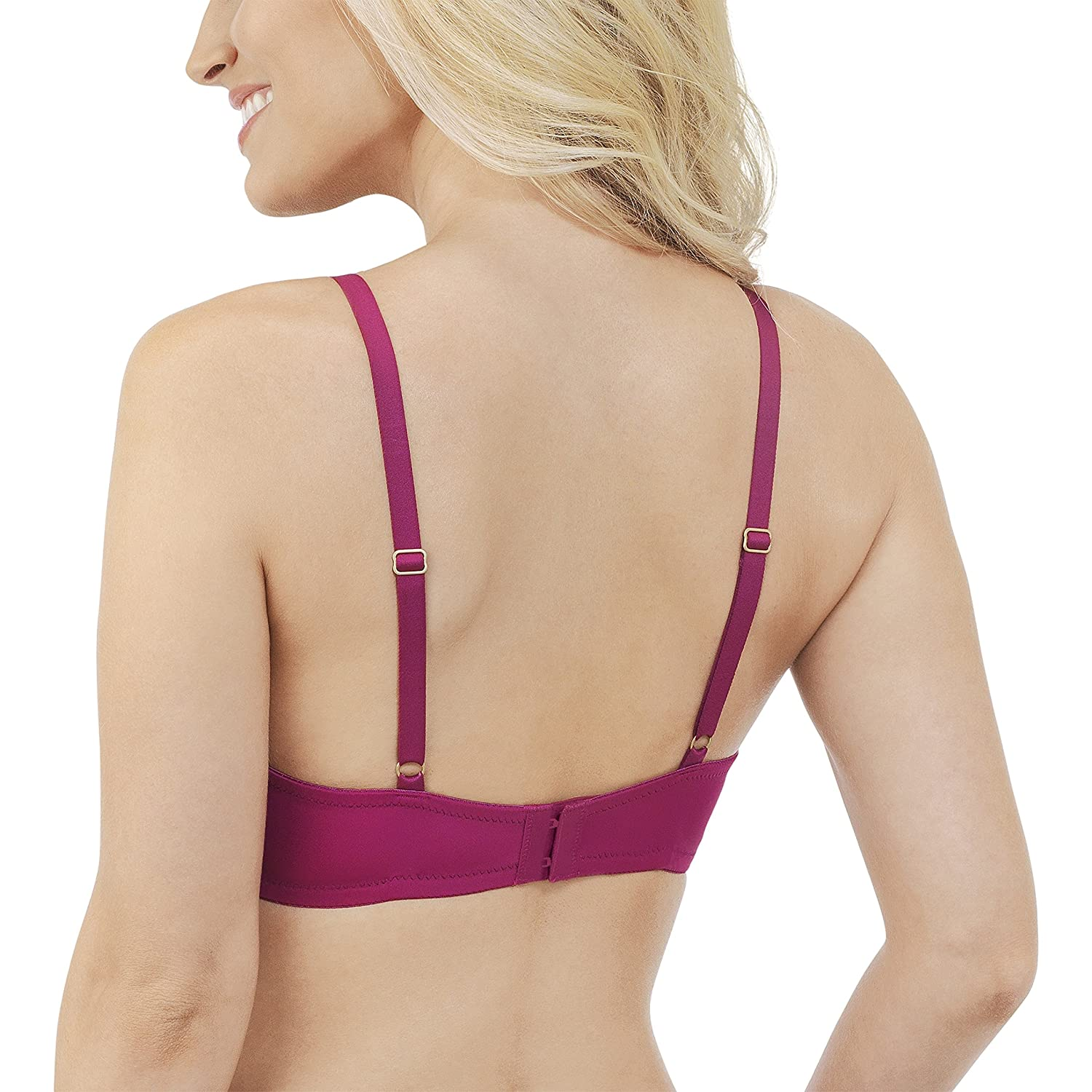 Vanity Fair Womens Breathable Luxe Full Coverage Padded Underwire Bra 75291