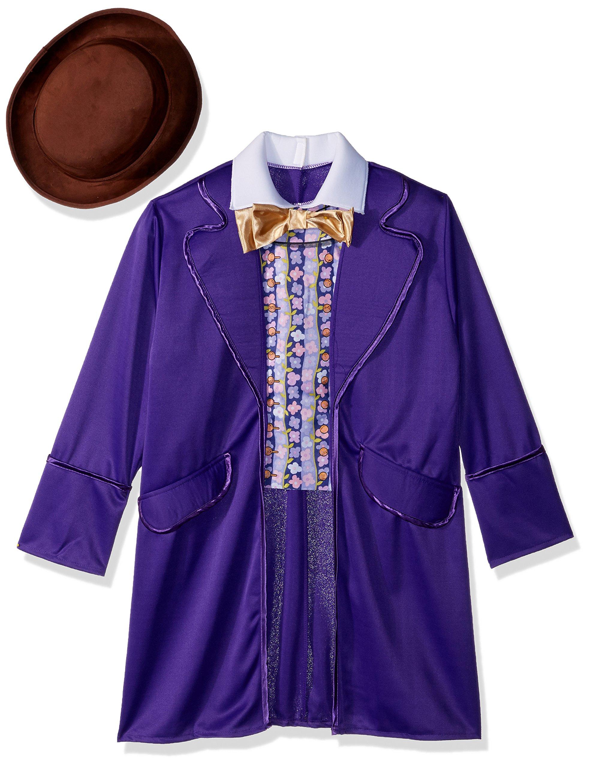 Rubie's Costume Kids Willy Wonka & The Chocolate Factory Willy Wonka Value Costume, Medium